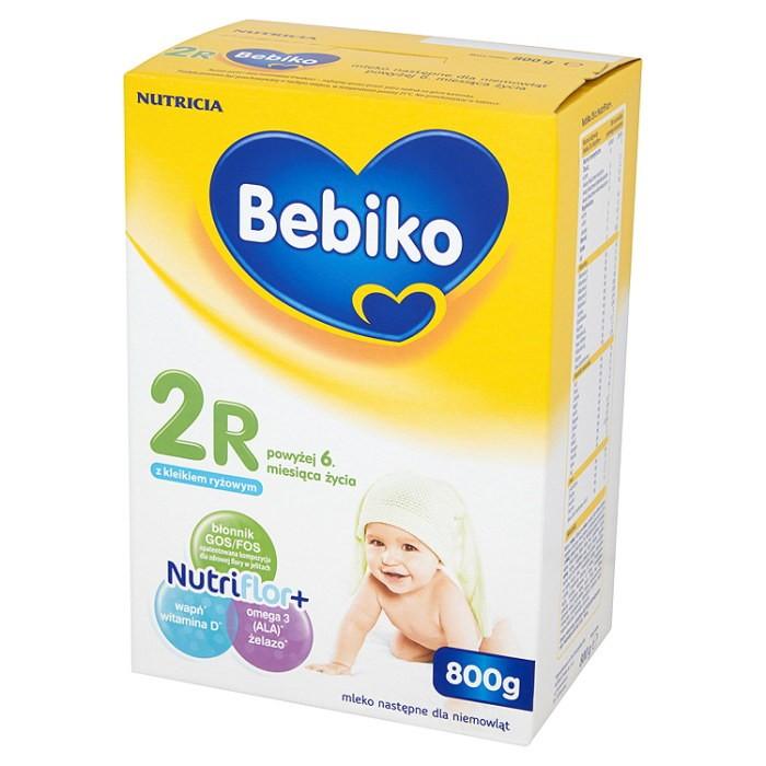 Bebiko 2R z NutriFlor+ z dodatkiem KLEIKU RYŻOWEGO 800g