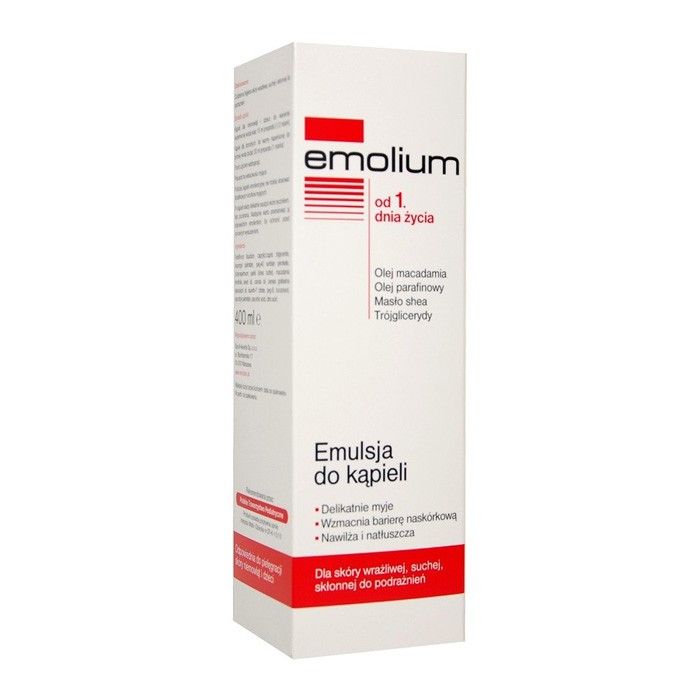EMOLIUM Emulsja do kąpieli 400ml
