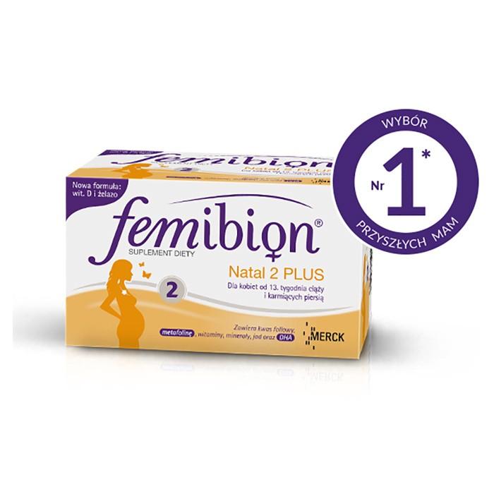 Femibion Natal 2 PLUS 60 sztuk. (30 tabletek + 30 kapsułek)