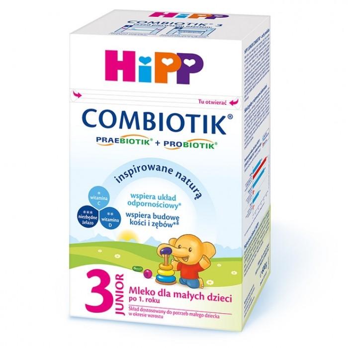 HiPP 3 600g Junior Combiotik mleko następne dla dzieci po 1 roku