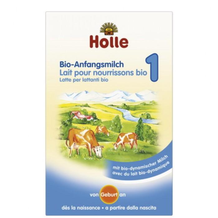 Holle BIO 1 mleko modyfikowane dla niemowląt 400g