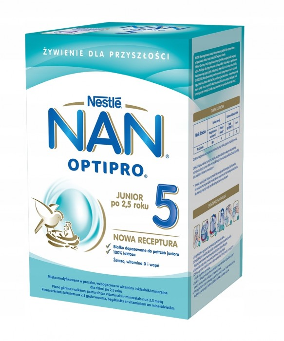 NAN Optipro 5 800g (2x400g) KARTON