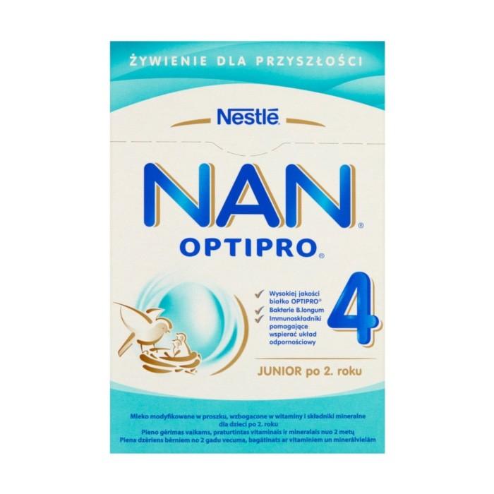 NAN 4 800 OptiPro mleko modyfikowane po 2 roku życia