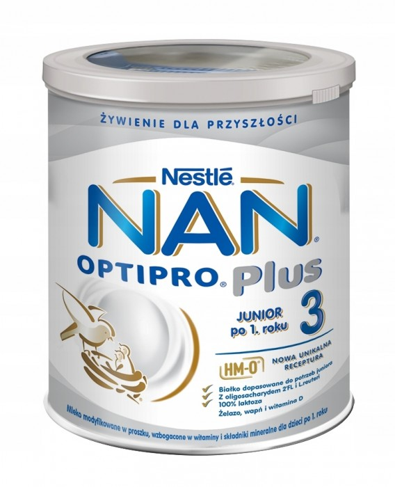 NAN Optipro Plus 3 800g