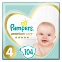 Pampers Premium Care 4 - 104 sztuk - rozmiar MAXI dla dzieci 8-14 kg - cena i opinie
