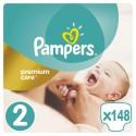 Pampers Premium Care 2 - 148 sztuk - mini dla dzieci 3-6 kg - cena i opinie