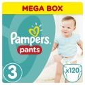 PAMPERS Pants 3 MIDI 120 szt 6-11 kg MEGA BOX