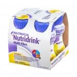 Nutridrink Multi Fibre smak waniliowy 4x125ml