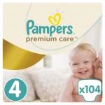Pampers Premium Care rozmiar 4 maxi 8-14-kg 104 pieluszki