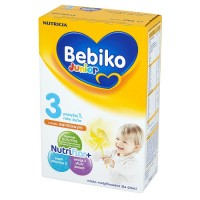 BEBIKO Junior 3 smak  waniliowym Mleko modyfikowane dla dzieci powyżej 1. roku życia 350g