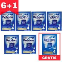 Bebilon 4 ZESTAW 6x1kg +1x1200g GRATIS