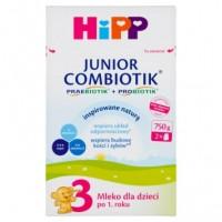 HiPP 3 750g Junior Combiotik mleko następne dla dzieci po 1 roku