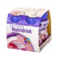 Nutridrink Protein TRUSKAWKA 4x125ml