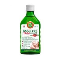 Mollers Baby Tran Norweski o aromacie naturalnym 250ml