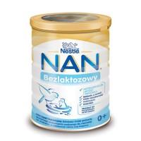 NAN EXPERT bezlaktozowe mleko modyfikowane 400g dla niemowląt od urodzenia