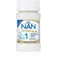 NESTLE Nan Optipro HA 1 90 ml hipoalergiczne mleko początkowe od urodzenia