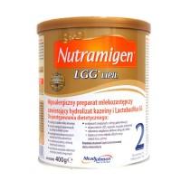 Nutramigen 2 LGG Lipil 400g hipoalergiczne mleko dla niemowląt od 6 miesiąca