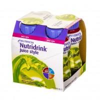 Nutridrink Juice Style o smaku jabłkowym 4x200ml