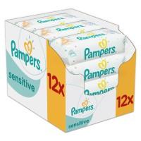 PAMPERS Sensitive chusteczki 12x52 sztuk