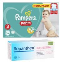 Pampers Pants 3 120 sztuk + Bepanthen Extra 30g GRATIS