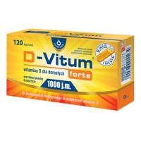 D-Vitum Forte 1000 120 kaps