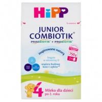HiPP 4 750g Junior Combiotik mleko modyfikowane dla dzieci po 2 roku