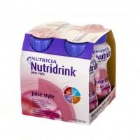 Nutridrink Juice Style o smaku truskawkowym 4x200ml