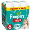 PAMPERS Pants 6 EXTRA LARGE 132szt +16kg
