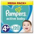 Pampers Active Baby 4+ (10-15kg) MEGAPACK 129 sztuk