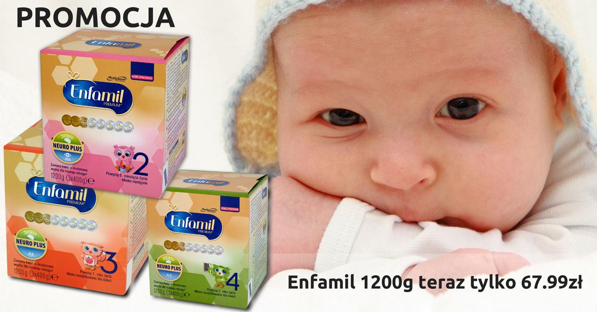 Promocja mleka Enfamil 1200g