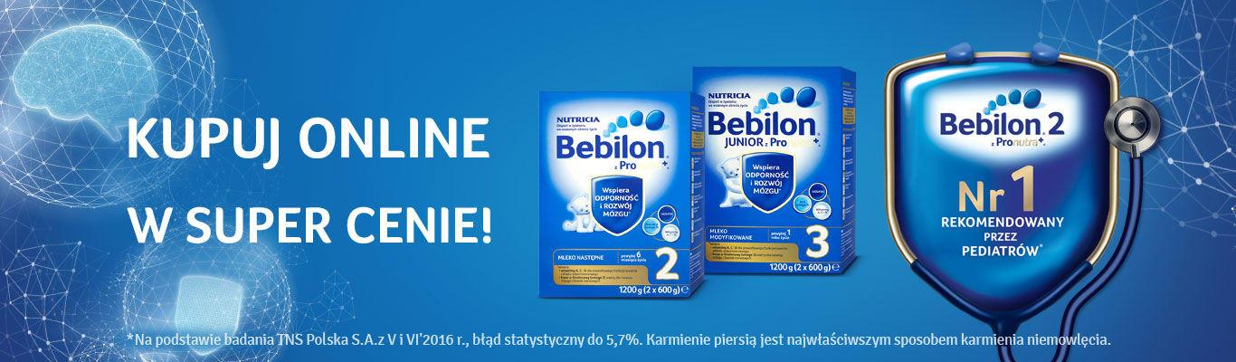 Bebilon promocja na 1200g 2,3,4